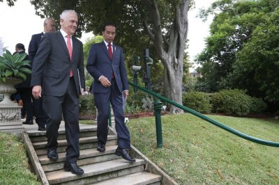 Indonesia leader suggests ASEAN membership for Australia