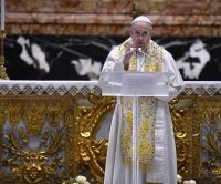 Pope Francis condemns aggressive nationalism as harmful to migrants