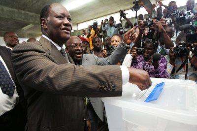 Ivory Coast at peace, president says