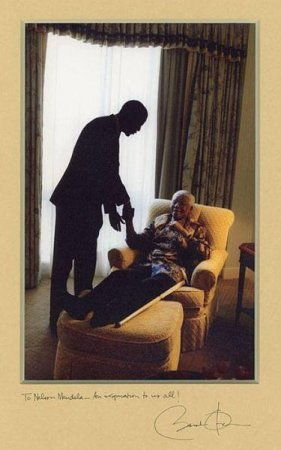 Air Force One's impressive passenger list for flight to Mandela memorial service