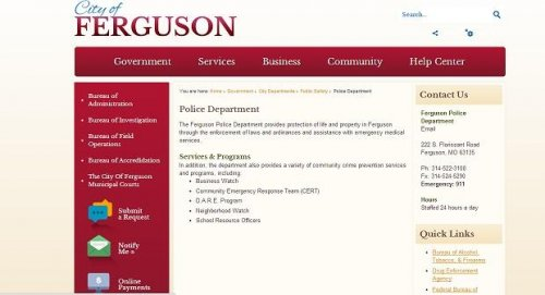 Anonymous 'hacktivists' get into city of Ferguson's websites Sunday night
