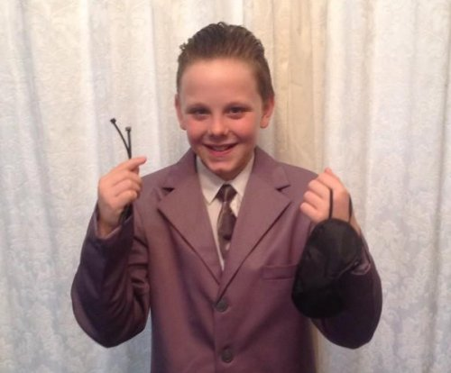 Boy, 11, came to school dressed as Christian Grey