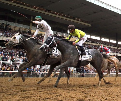 Creator wins the 2016 Belmont Stakes; Exaggerator wilts