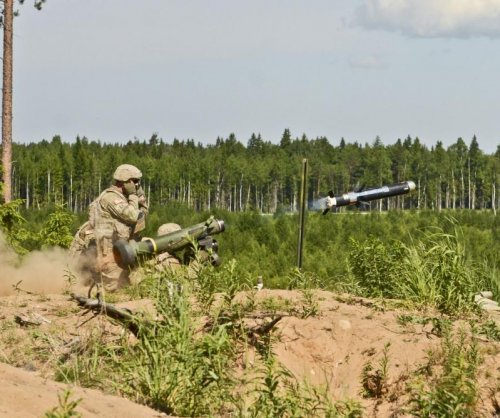 Javelin missile scores perfect in U.K. land vehicle tests