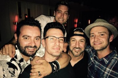 'N Sync reunites for JC Chasez's 40th birthday bash