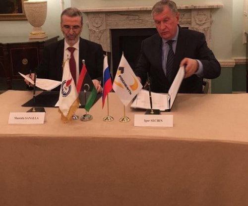 Libya signs deal with Russia's Rosneft