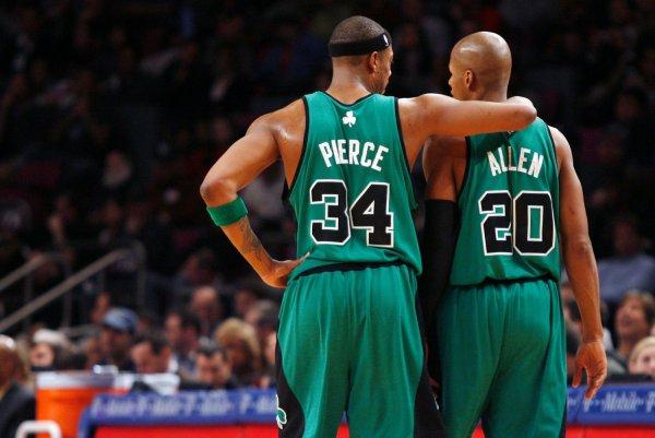 Boston feelings  Ray Celtics Allen when had Watch: hurt