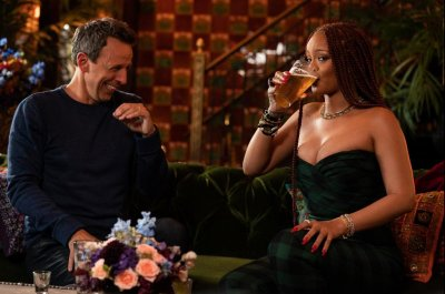 Rihanna set to go day drinking with Seth Meyers on 'Late Night'