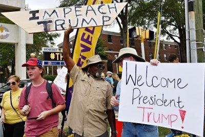 Trump touts criminal justice reform at South Carolina's Benedict College