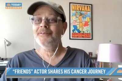 'Friends' actor James Michael Tyler shares cancer diagnosis