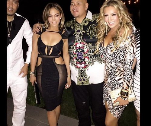 Jennifer Lopez celebrates 46th birthday in sheer dress