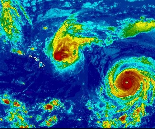 Three powerful hurricanes churn in the Pacific; Hawaii will see some effects