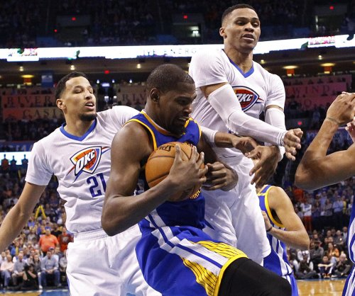 Golden State Warriors F Kevin Durant questionable for Game 3 against Portland Trail Blazers