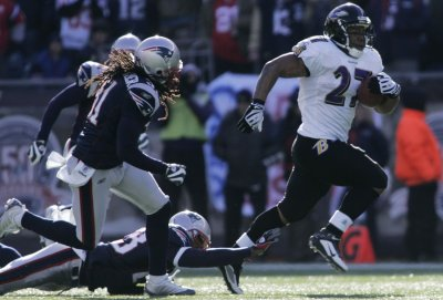 NFL: Baltimore 33, New England 14