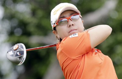 Mika Miyazato leads LPGA's Evian Championship