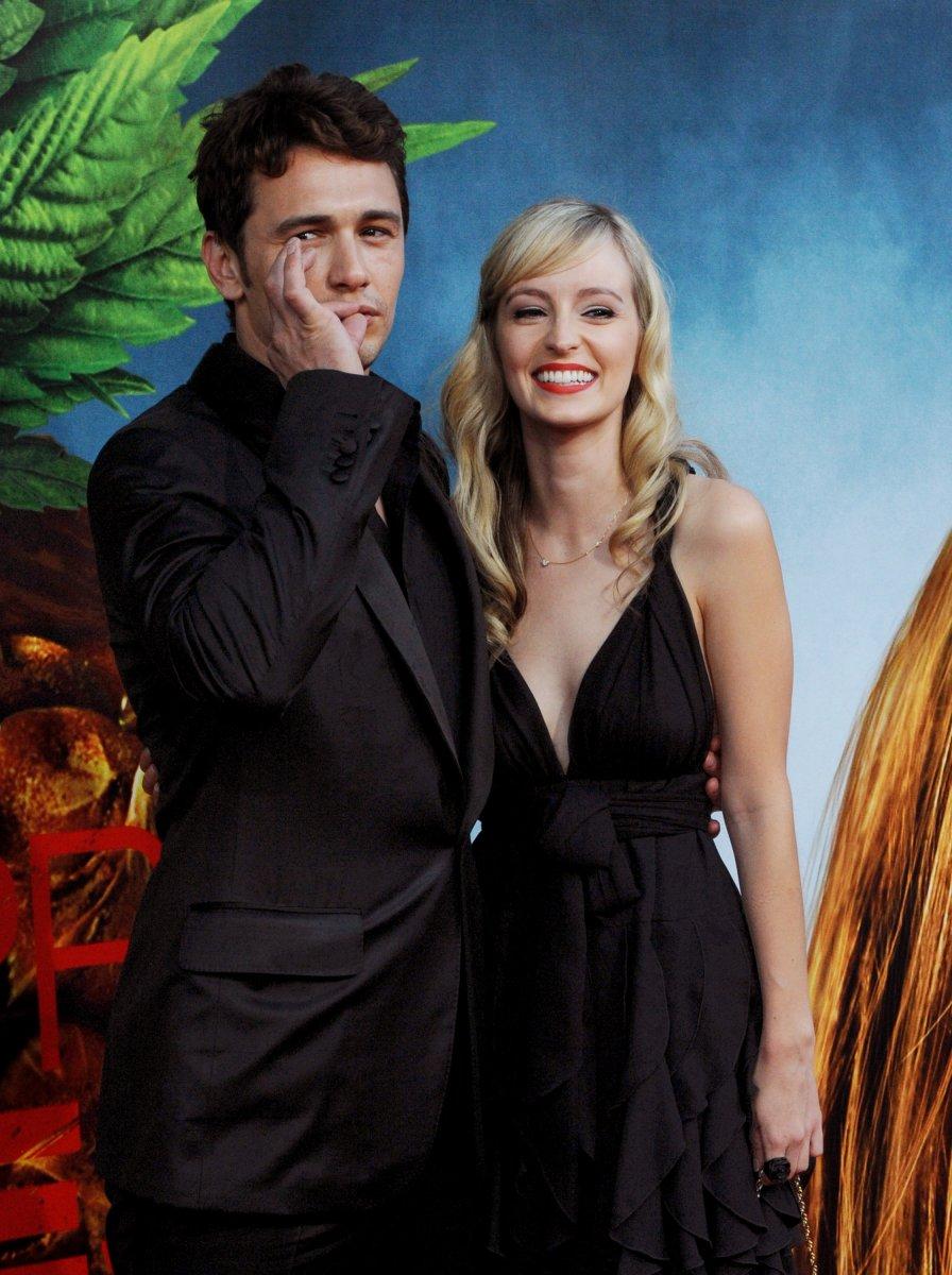 James Franco Girlfriend History Amazing james franco, ahna o'reilly break up - upi
