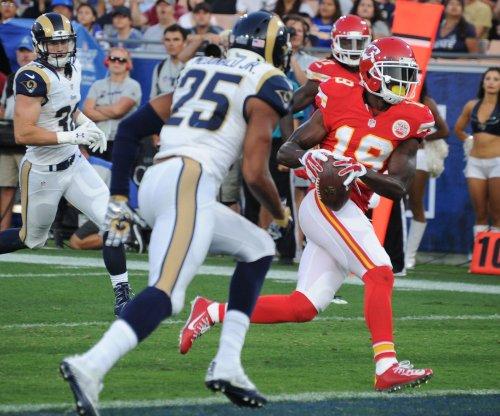 Kansas City Chiefs WR Jeremy Maclin injures groin vs. Jacksonville Jaguars
