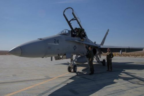 Northrop Grumman contracted for F-18 targeting system repairs