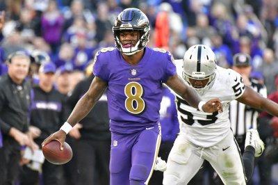 Lamar Jackson wins second straight start for Baltimore Ravens