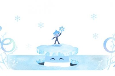 Google welcomes the winter solstice with new Doodle
