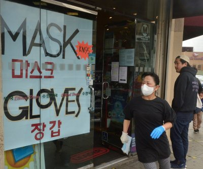LA mayor orders face coverings at essential businesses