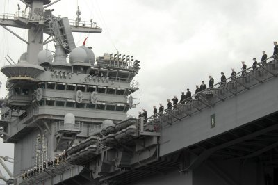 Navy searches for missing USS Nimitz sailor