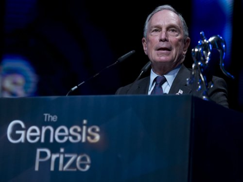 Former NYC Mayor Bloomberg gets a knighthood