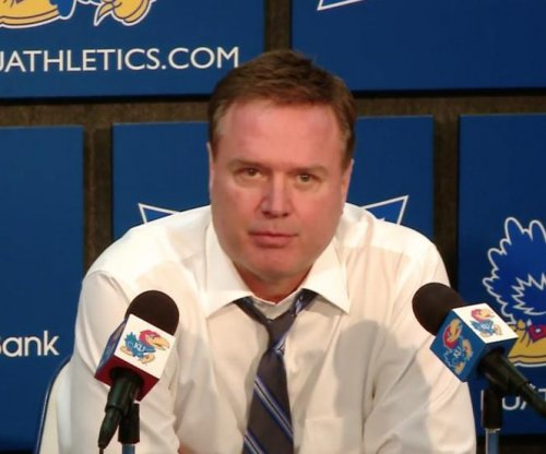 Kansas' Bill Self blasts player after dismal dunk