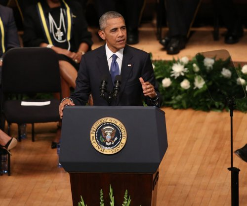 Obama, Bush, Dallas police chief, others salute fallen officers at memorial service