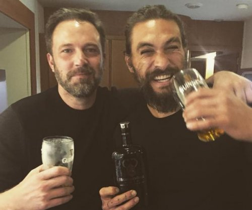 Ben Affleck, Jason Momoa celebrate 'Justice League' wrap