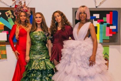 Beyonce stuns in photo from mom Tina Knowles' gala