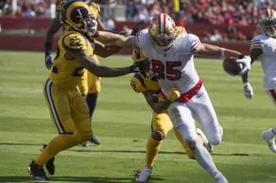 49ers TE George Kittle making impression on and off field