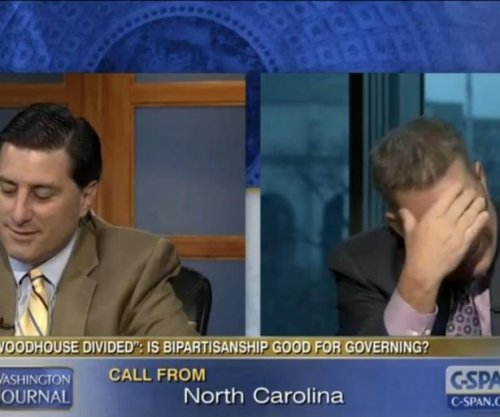 Mom calls into C-SPAN to tell her pundit sons to stop arguing