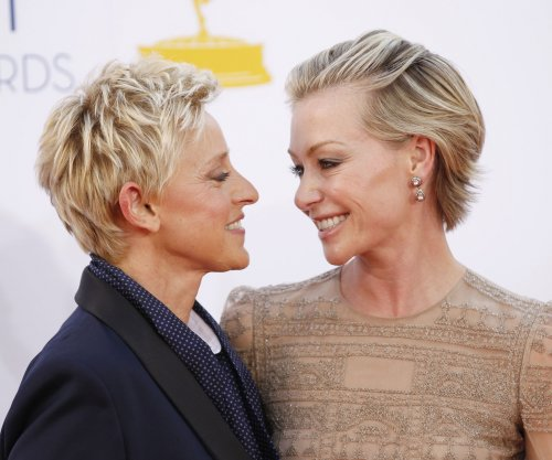 Ellen DeGeneres secretly filmed by Portia de Rossi during jolly workout