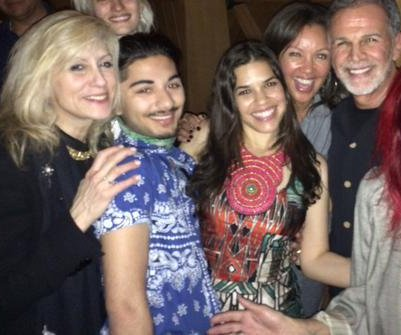 'Ugly Betty' co-stars reunite for America Ferrera's birthday