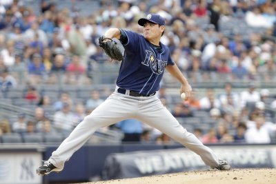 Matt Moore pitches Tampa Bay Rays to win over Los Angeles Angels