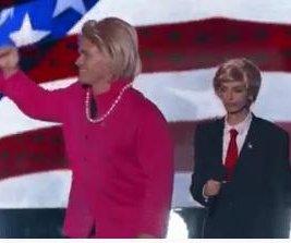 John Cena, Victoria Justice impersonate Donald Trump and Hillary Clinton at Teen Choice Awards