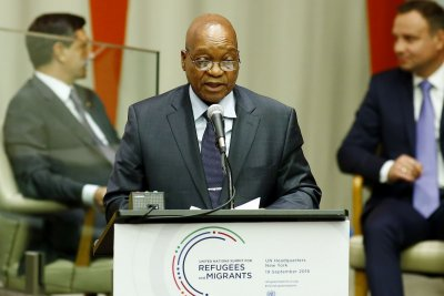 South Africa's president, Jacob Zuma, ousts cabinet