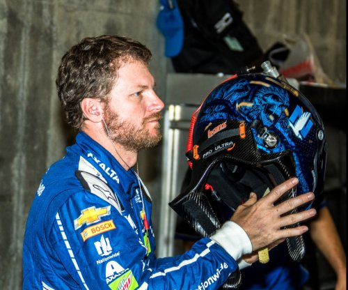 NASCAR notebook: Dale Earnhardt Jr. gets two bags full of fluids
