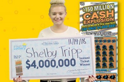 Mom's 'lucky feeling' leads to daughter's $4 million jackpot