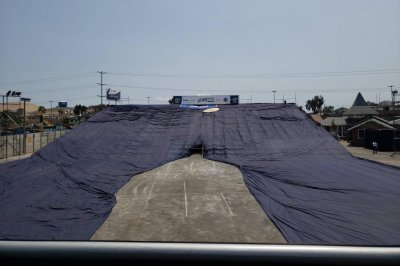 World's largest pair of jeans unveiled at Peru mall