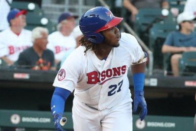 Jays' prospect Guerrero Jr. making strides to return from oblique injury