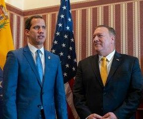Pompeo reiterates U.S. support for Venezuelan opposition leader Guaido
