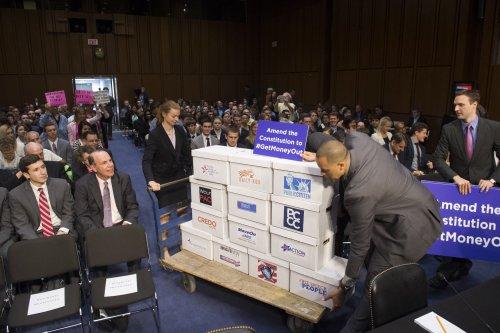 Constitutional amendment to reverse Citizens United sparks First Amendment debate