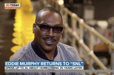 Eddie Murphy: Return to 'SNL' set feels 'surreal'
