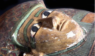 Archaeologists unearth rare wooden sarcophagus in Egypt tomb site