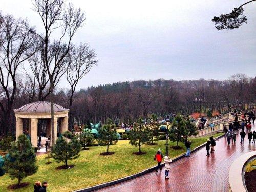 Ukrainian refugees housed on former president's estate