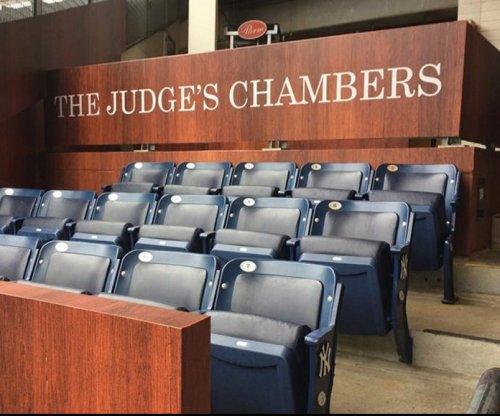 New York Yankees open 'Judge's Chambers' for Aaron Judge