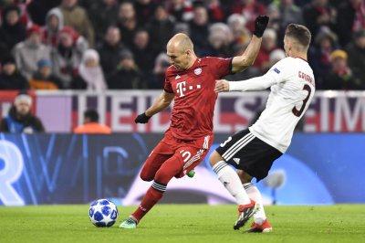Champions League: Bayern's Arjen Robben rips golazo vs. Benfica