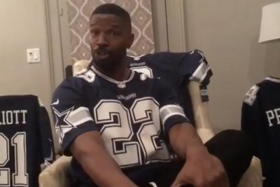Jamie Foxx celebrates Cowboys win, dunks on Stephen A. Smith